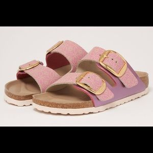 Birkenstocks Two Strap Arizona in Rose